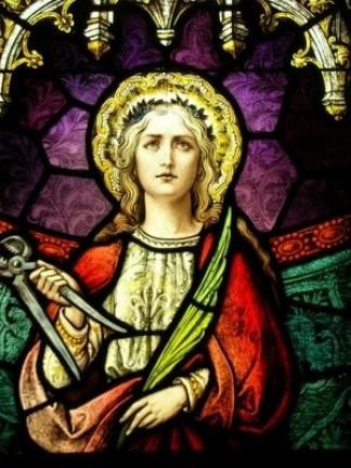 Les martyrs de l'Eglise primitive - À lire ! Merci mon Dieu de pouvoir encore professer notre foi ♥ - Page 2 Sainte-apolline